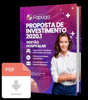Proposta de Investimento 2020.1 do Curso de Gestão Hospitalar